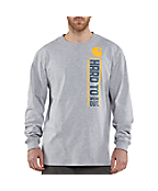 Men's Graphic Hard to Wear Out Long-Sleeve T-Shirt
