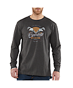Men's Graphic Wrench Work Crew Long-Sleeve T-Shirt