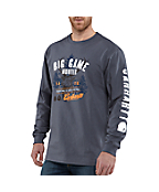 Men's Graphic Big Game Hunter Long-Sleeve T-Shirt