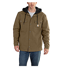Men's Quick Duck® Roane Hooded Shirt Jac