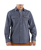 Men's Wylie Denim Snap Front Shirt