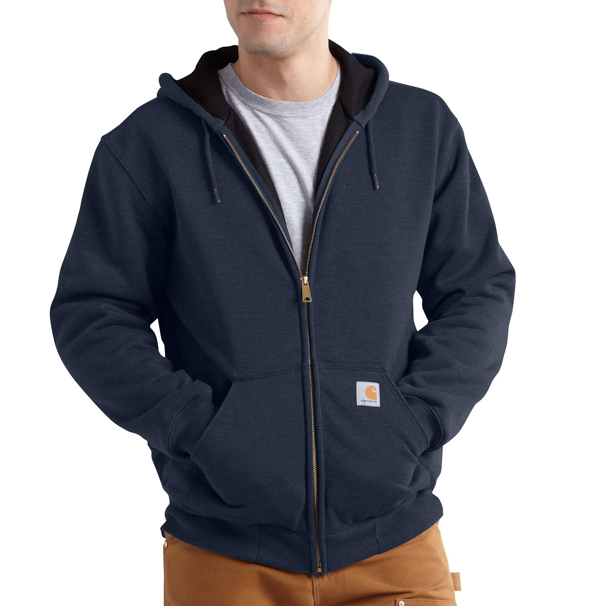 Carhartt Rain Defender Rutland Thermal-lined Hooded Zip-front Sweatshirt