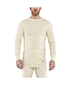 Men's Carhartt Force® Cotton Super-Cold Weather Crewneck Top