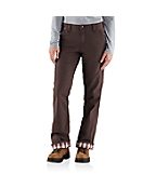 Women's Relaxed-Fit Canvas Flannel Lined Fulton Pant