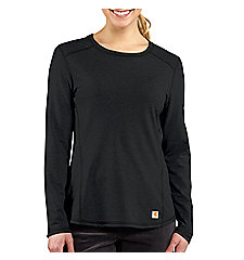 Women's Carhartt Force® Long-Sleeve Crewneck