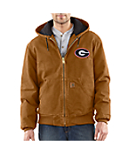 Men's Georgia Sandstone Active Jac/Quilted Flannel Lined