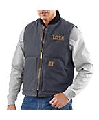 Men's LSU Sandstone Vest/Arctic-Quilt Lined
