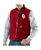 Men's Oklahoma Sandstone Vest/Arctic-Quilt Lined