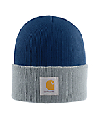 Men's Navy/Gray Acrylic Watch Hat