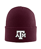 Texas AM Acrylic Watch Hat 1