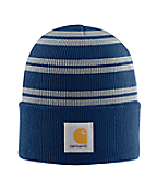 Men's Navy/Gray Acrylic Watch Hat II