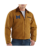 Men's Michigan Sandstone Detroit Jacket/Blanket Lined