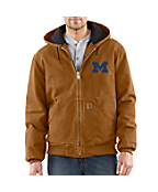 Men's Michigan Sandstone Active Jac/Quilted Flannel Lined