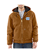 Men's North Carolina Sandstone Active Jac/Quilted Flannel Lined