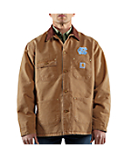 Men's North Carolina Sandstone Detroit Jacket/Blanket Lined