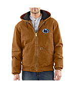 Men's Penn State Sandstone Active Jac/Quilted Flannel Lined