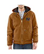 Men's Notre Dame Sandstone Active Jac/Quilted Flannel Lined