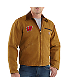 Men's Wisconsin Sandstone Detroit Jacket/Blanket Lined