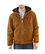 Men's Iowa State Sandstone Active Jac/Quilted Flannel Lined