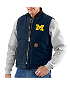 Men's Michigan Sandstone Vest/Arctic-Quilt Lined