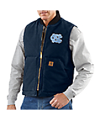 Men's North Carolina Sandstone Vest/Arctic-Quilt Lined