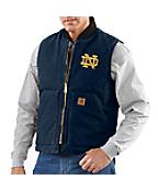 Men's Notre Dame Sandstone Vest/Arctic-Quilt Lined