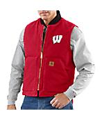 Men's Wisconsin Sandstone Vest/Arctic-Quilt Lined