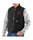Men's Texas A&M Sandstone Vest/Arctic-Quilt Lined