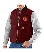 Men's Iowa State Sandstone Vest/Arctic-Quilt Lined