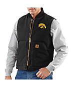 Men's Iowa Sandstone Vest/Arctic-Quilt Lined