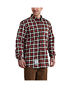 Men's Flame-Resistant Classic Plaid Shirt