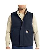 Men's Flame-Resistant Mockneck Vest