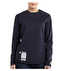 Women's Flame-Resistant Carhartt Force® Cotton Long-Sleeve T-Shirt