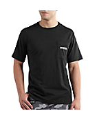 Men's Maddock Graphic Metal Plate C Short-Sleeve T-Shirt