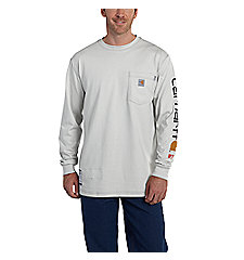 Men's Flame-Resistant Carhartt Force® Graphic Long-Sleeve T-Shirt