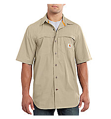 Men's Carhartt Force® Mandan Solid Short-Sleeve Woven