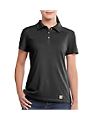 Women's Carhartt Force® Performance Verdon Polo