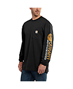 Men's Workwear Graphic Field Tested Long-Sleeve T-Shirt