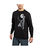 Men's Maddock Graphic Deer Hunter Long-Sleeve T-Shirt