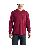 Men's Maddock Graphic Eagle Long-Sleeve T-Shirt