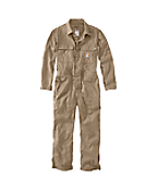 Men's Flame-Resistant Lightweight Twill Coverall