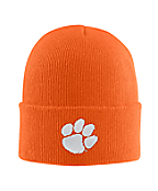 Clemson Acrylic Watch Hat 1