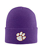 Clemson Acrylic Watch Hat 2
