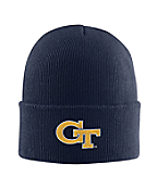 Georgia Tech Acrylic Watch Hat 1