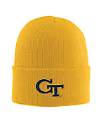 Georgia Tech Acrylic Watch Hat 2