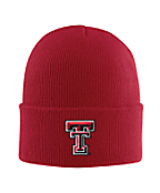 Texas Tech Acrylic Watch Hat 1