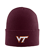 Virginia Tech Acrylic Watch Hat 1