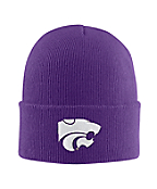 Kansas State Acrylic Watch Hat 1