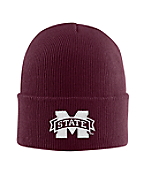 Mississippi State Acrylic Watch Hat 1