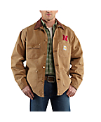 Men's Nebraska Weathered Chore Coat